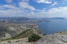 Black Sea coast. Crimea, September.