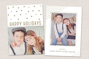Holidays Photo Card CC018