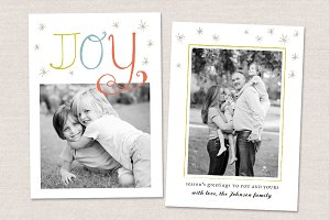 Christmas Card Template CC021