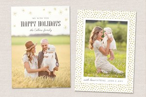 Holidays Card Template CC025