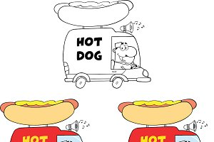 Hot Dog Trucks Collection