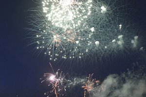 Cowes Royal Visit Firework DIsplay