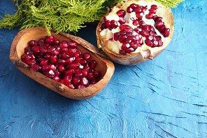 Winter pomegranate