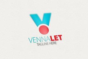 Venna V Letter Logo