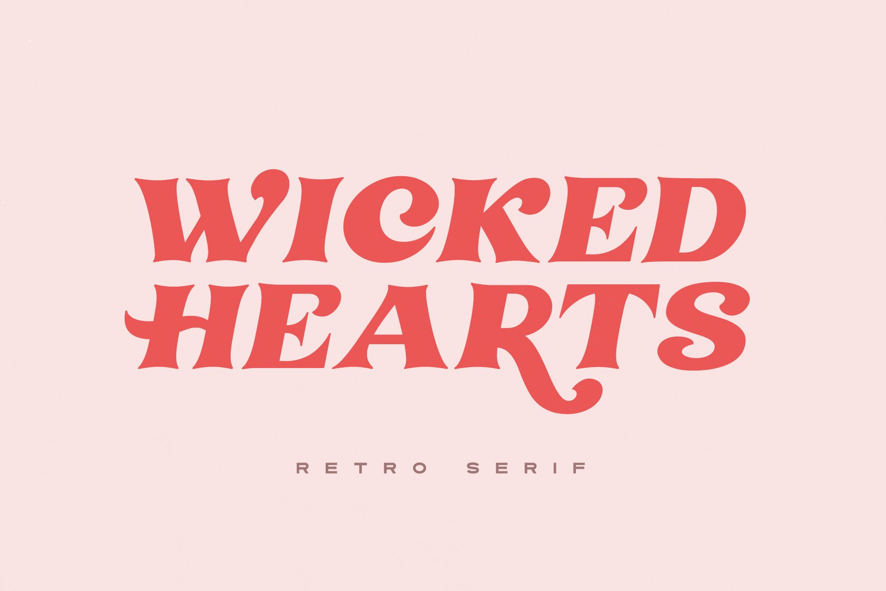 Шрифт – Wicked Hearts
