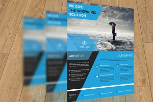 Corporate Flyer Template-V124