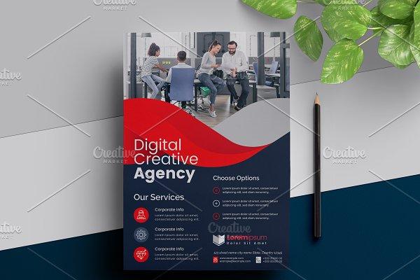Corporate Digital Flyer