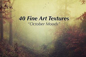 40 Fine Art Textures - October Moods
