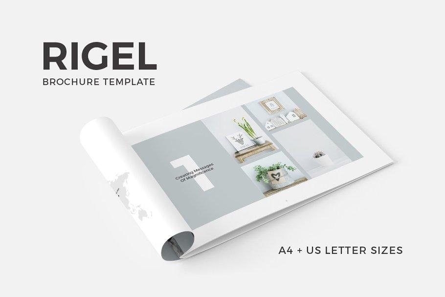 Rigel Publisher Brochure Template