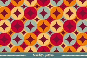 Seamless pattern. Geometric print.