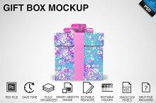 Gift Box Mockup 02