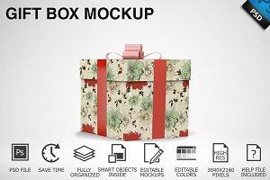 Gift Box Mockup 03