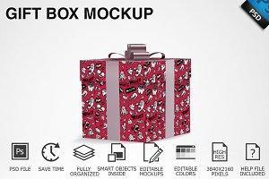 Gift Box Mockup 04