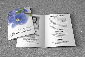 Funeral Program Template-V265