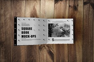 Square Book Mock-Up 2