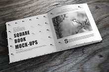 Square Book Mock-Up 5