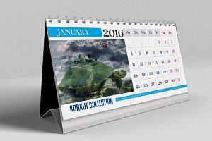 2016 Desk Calendar