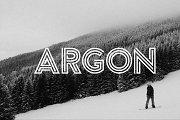 Argon Font (Full)