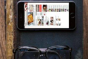 iPhone6 Mockup Template #5