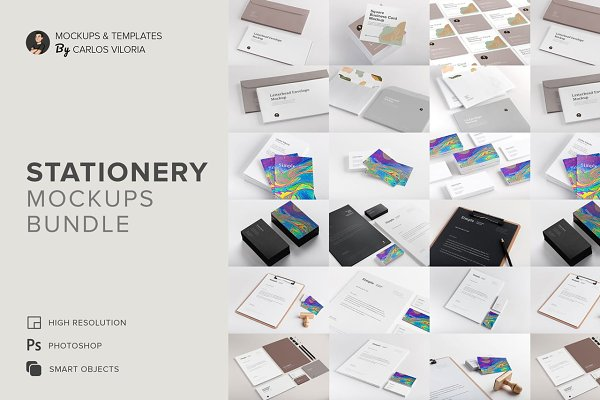 Stationery Mockups Bundle