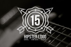 Unique Hipster Logo