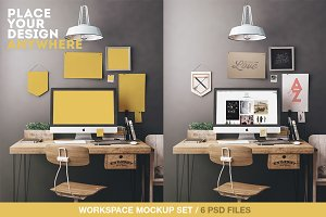 Workspace Mockup Set 1