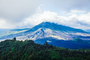View Batur volcano