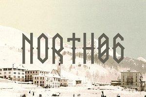 NORTH 06 - font