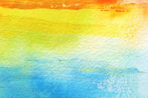 watercolor brush strokes paint