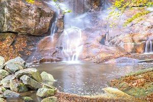 waterfall in Montseny