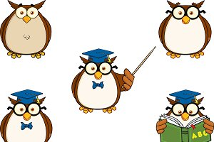 Wise Owl Teacher Collection - 1