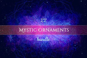 Mystic Geometry: Mega Ornaments Set