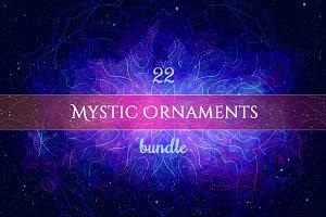 Mystic Geometry: Mega Ornaments Set
