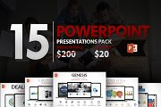 15 Powerpoint Presentation Pack