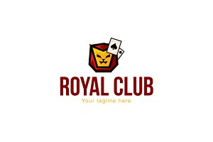 Royal Club Stock Logo Template