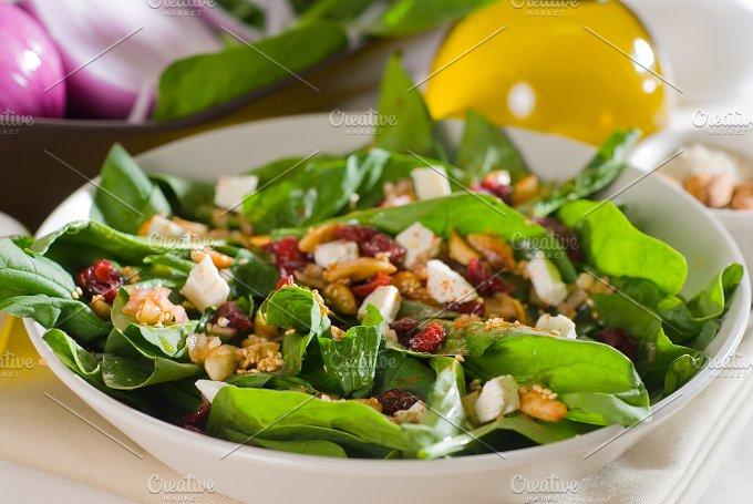 spinach salad 7.jpg - Food & Drink