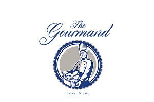 The Gourmand Baker and Cafe Logo