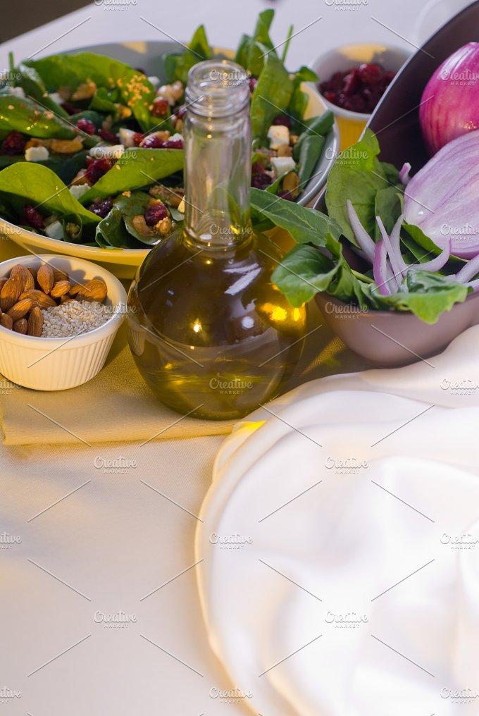 spinach salad 12.jpg - Food & Drink