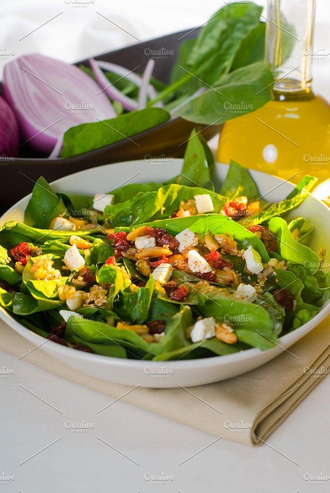 spinach salad 13.jpg - Food & Drink