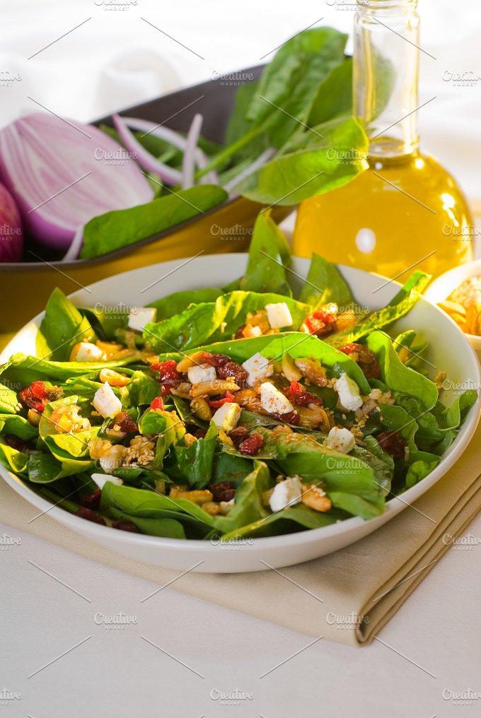 spinach salad 14.jpg - Food & Drink