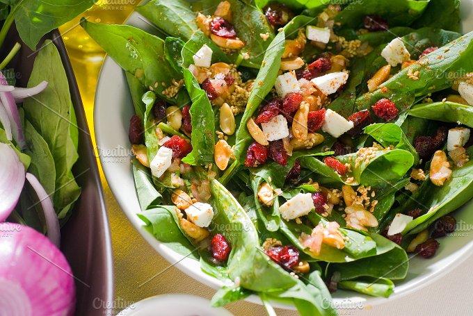 spinach salad 17.jpg - Food & Drink