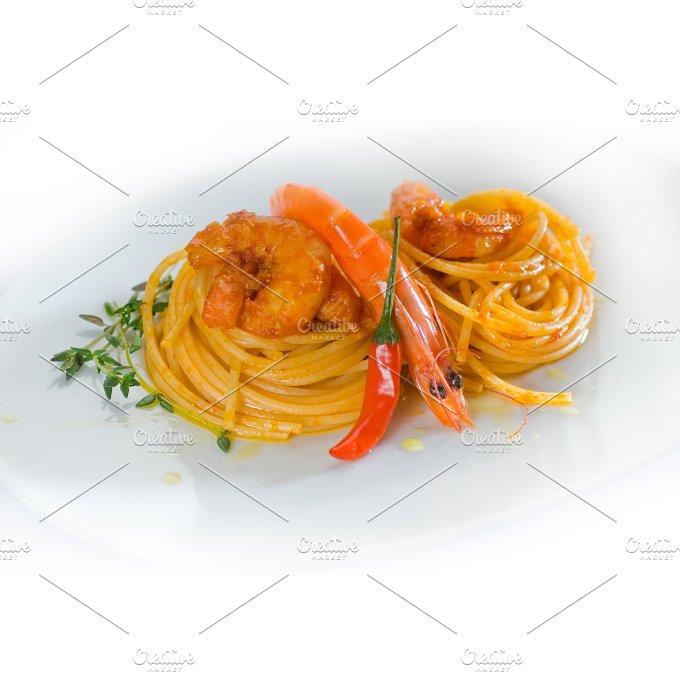 Spicy shrimps pasta (10).jpg - Food & Drink