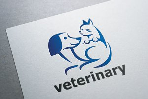 Pet Veterinary Logo