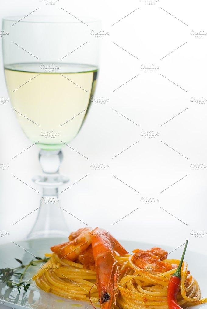 Spicy shrimps pasta (21).jpg - Food & Drink