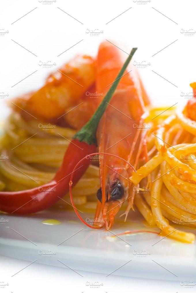 Spicy shrimps pasta (12).jpg - Food & Drink