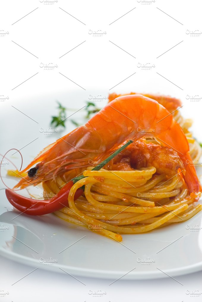 Spicy shrimps pasta 20.jpg - Food & Drink