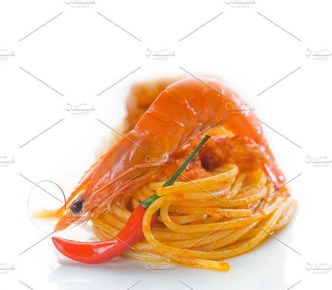 Spicy shrimps pasta 16.jpg - Food & Drink