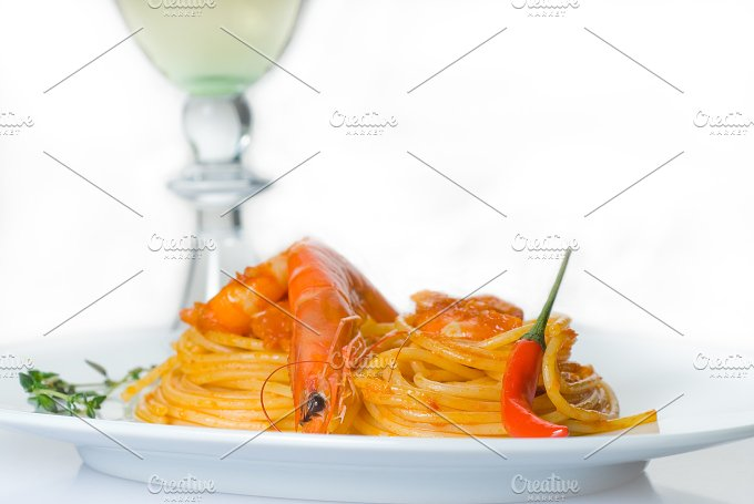 Spicy shrimps pasta 22.jpg - Food & Drink