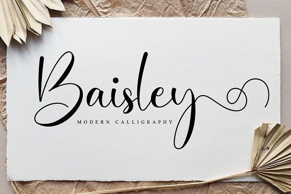 Baisley Script