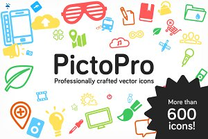 PictoPro vector icons
